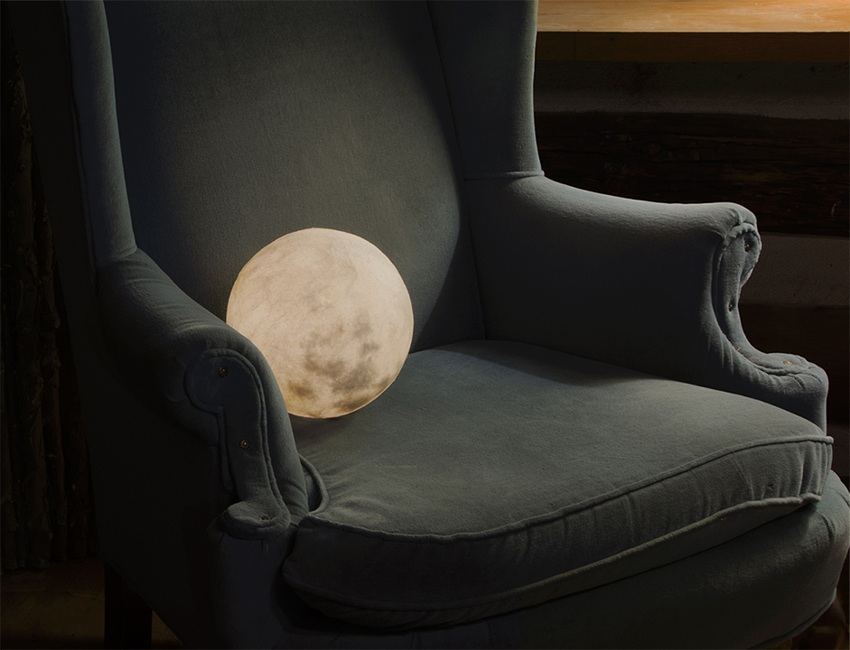 12. Moon in a Chair